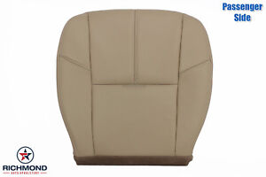 2012 2013 Chevy Silverado Lt Ls Hd Passenger Side Bottom Leather Seat Cover Tan