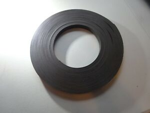 1m Rubber Self Adhesive Magnetic Stripe Flexible Magnet 3 4 X 120