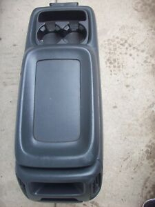 2000 Chevy Silverado 1500 Pickup Floor Center Console Black Oem Used