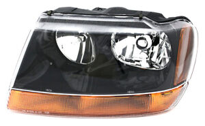 For 1999 2000 2001 Jeep Grand Cherokee Laredo Headlight Headlamp Driver Side