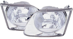 For 2001 2002 2003 Ford F 150 Headlight Headlamp Pair Set Replacement