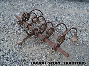 Official Ih Farmall 1 Point Fast Hitch Toolbar With Shanks 140 130 Super A 100
