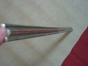 1968 Ford Torino Fastback Tail Light Panel Molding Trim Fairlane Chrome Nice