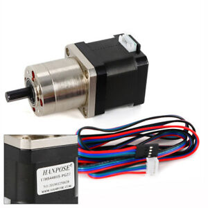 High Precision Nema 17 Stepper Motor 1 27 Planetary Gearbox Cnc Robot Us Stock
