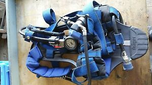 Drager Pa 90 Series Back Harness breathing Apparatus P n 4054694