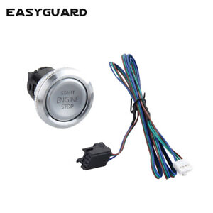 Easyguard Replacement Push Engine Start Stop Button For Ec002 Series P3 Style