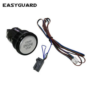 Easyguard Replacement Push Engine Start Stop Button For Ec002 Series P7n Style