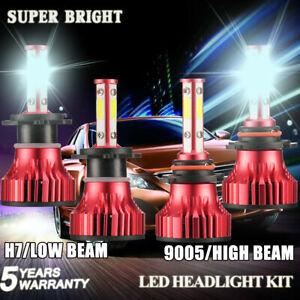 Combo H7 9005 Hb3 H10 Led Headlight Conversion Kit Bulb For Mazda Cx 7 2002 2007