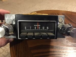 Old Ford Radio Philco Old Rare Antique Mustang F150