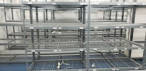 Rivetier 105 X 69 X 30 Heavy Duty Shelving Rack Steel Wire Metal Shelf Shelfs