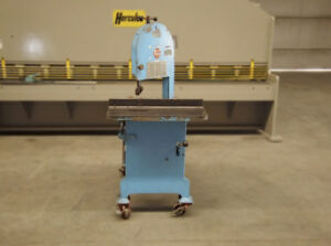 Roll in Vertical Band Saw Capacity 14 1 2 1 Hp
