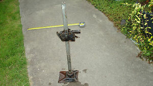 Vintage Bumper Jack Fits Many Vintage Autos sold As is As Working Condition