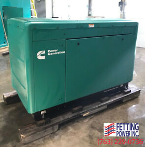 New 25kw Cummins Natural Gas Generator C25 n6 S n C160936908