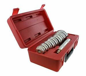 Abn Bearing Race And Seal Bush Driver Set With Carrying Case For Wheel Bearings