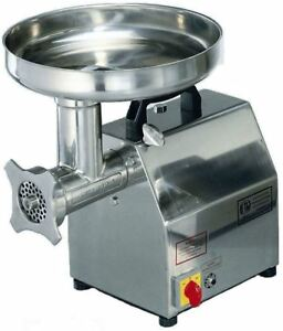 Axis 12 Ax mg12 Meat Grinder 1hp Stainless Steel 115v 60 Hz