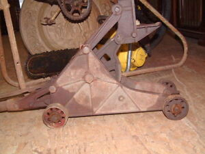Moonshine Days Vintage Early 1900 S Elite Mftg 85 Floor Jack Heavy Duty Works