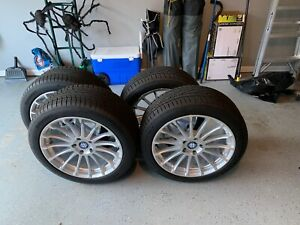 19 Inch Beyern Wheels And Tires Package Staggered