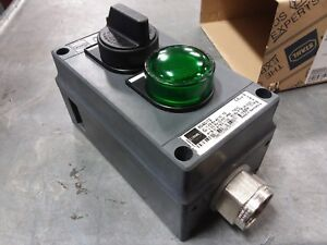 Stahl Consig 8040 12 2g Ex Ed Iic T6 Industrial Control Start Stop Switch Box