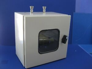 Gas Enclosure Cabinet Box With Selfa Valves For High Purity Gas Approx 12x12x8
