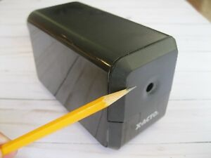 X acto Electric Pencil Sharpener Model 18xxx tested Works Great Sharp