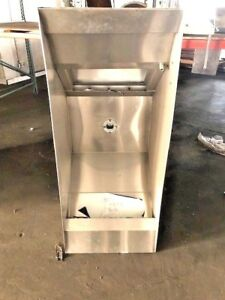 24 Commercial Hood Restaurant Exhaust Hood For Fryer Or Grill