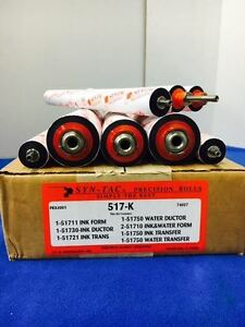 517 k T51 8pcs Roller Kit For Ab Dick 9800