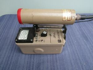 Ludlum Model 3 Geiger Counter 44 3 Probe Guaranteed