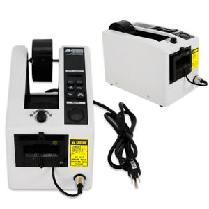 Automatic Tape Dispenser Adhesive Tape Cutter Packaging Machine Led Display 110v