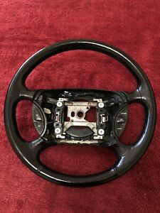 leather Steering Wheel 1994 1995 1996 1997 Of A 1996 Ford Mustang Gt Oem Used