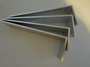 2 X 6 Aluminum Angle 1 8 Thick 1 1 2 In Length 4 Pieces