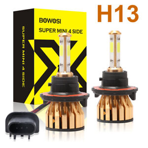 H13 9008 2000w 300000lm 4 Sides Cree Led Headlight Lamp High Low Beam Bulb 6500k