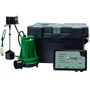 Zoeller 508 0014 Aquanot Fit Battery Backup Sump Pump System W Wifi