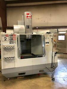 Haas Vf2ss Cnc Milling Machine High Speed With Extended Memory