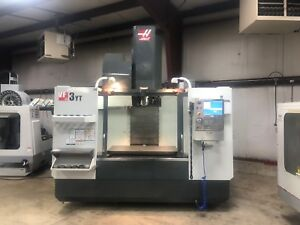 Haas Vf3yt Vertical Cnc Milling Machine