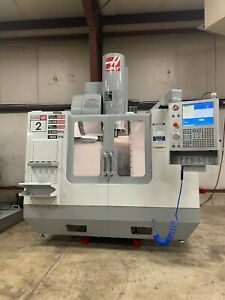 Haas Vf2ss Vertical Cnc Milling High Speed Machine With Extended Memory