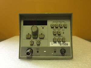 Hp Agilent 83525a 10 Mhz To 8 4 Ghz 20 Mw Rf Sweep Generator Module Tested