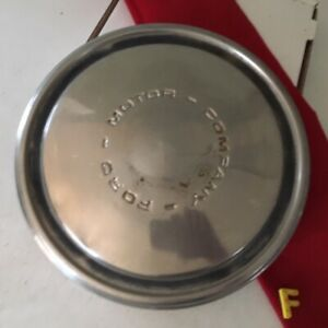 F 1 Vintage 1970 S Ford Motor Company Dog Dish Hubcap 10 5 1967 1976
