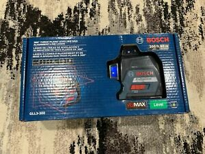 Bosch Level gll3 300 360 3 Plane Leveling Alignment Laser New look Here