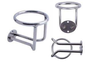 Marine Stainless Steel Ring Drink Cup Holder For Boat Car Truck Rv Camper Suv