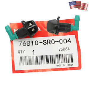 Oem Windshield Washer Nozzles Sprayer Pair For Honda Civic Acoord Crx 1990 1997