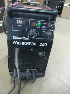 Thermal Arc Fabricator 250 Mig Welder 208 230 Volts Single Phase