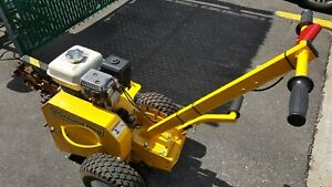 Used In Very Good Condition Ground Hog T4 hs 18 Trencher