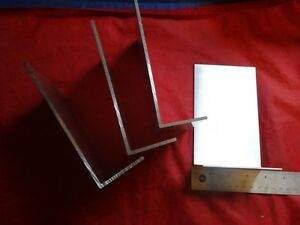 2 X 6 Aluminum Angle 1 8 Thick 3 5 8 In Length 4 Pieces