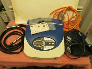 Anspach Emax2 Plus Drill System Console handpiece attachments footpedal Vg Cond