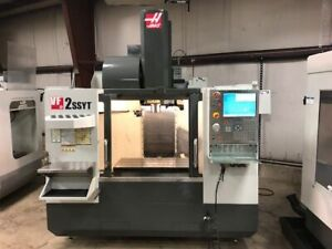 Haas Vf2ssyt Cnc Milling Machine High Speed With Extended Y Travel