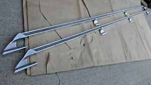 1973 1987 Chevy Truck Bed Hand Rails Original Gm Accessory Pair Gmc 88