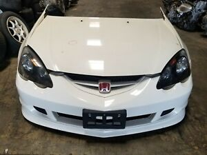 2002 2004 Jdm Acura Rsx Dc5 Integra Type R Front End Conversion Nose Cut White 3