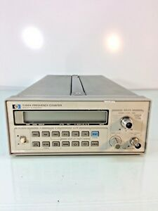 Hp 5386a Frequency Counter 10 Dbm 10hz 3ghz W Opt 004 Tested