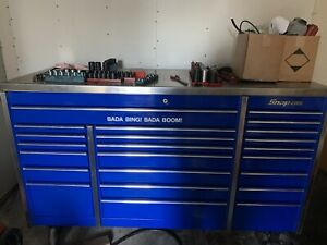 Snap On Krl1003 Triple Bank Blue With Stainless Steel Top Pittsburgh Pa