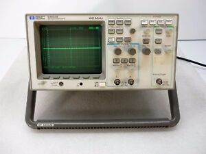Hp Agilent 54603b 2 Channel 60mhz Oscilloscope W 54652b Rs 232 Interface Module